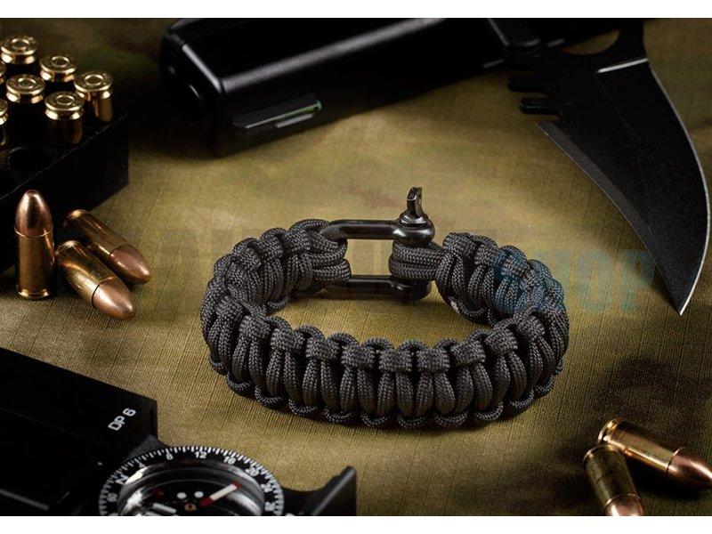 Invader Gear Shackle Bracelet (Black)