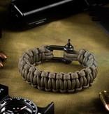 Invader Gear Shackle Bracelet (Gun Grey)