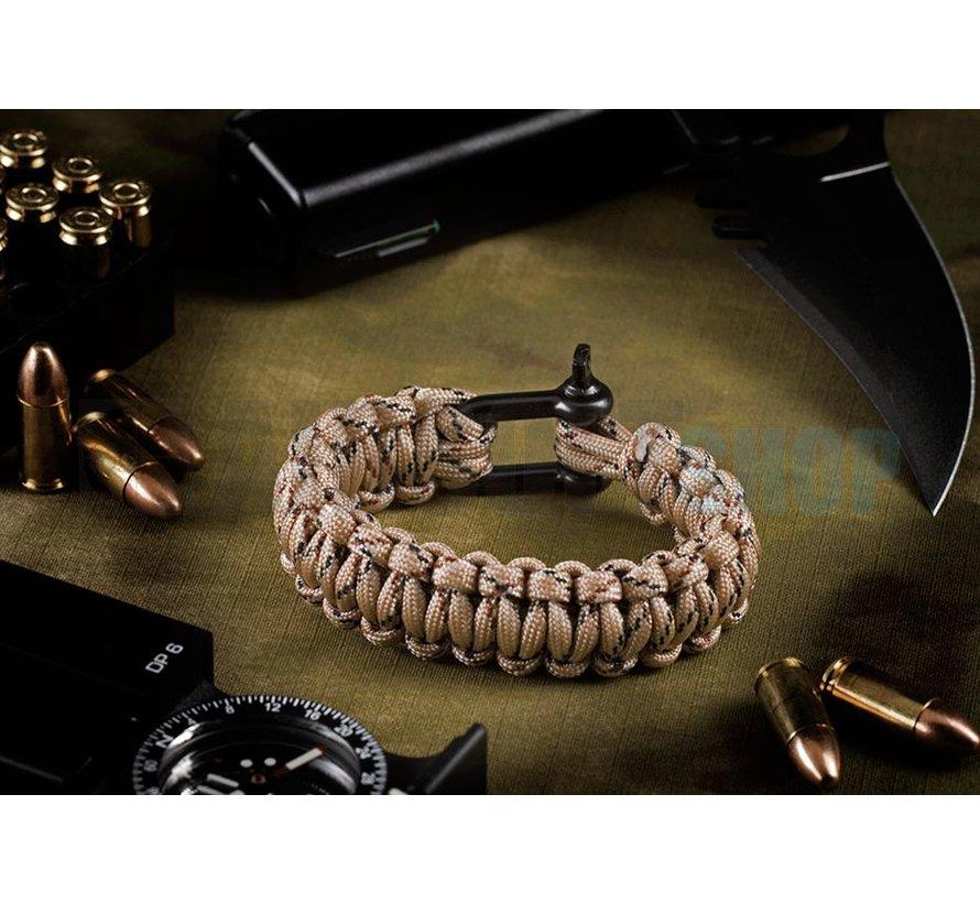 Shackle Bracelet (Desert Camo)