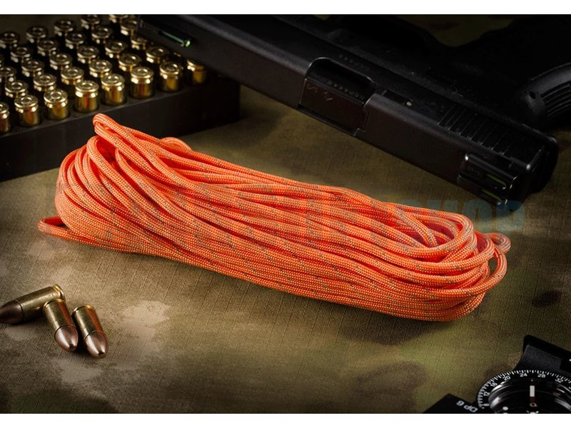Invader Gear Paracord 550lb (Orange Yellow Reflective)