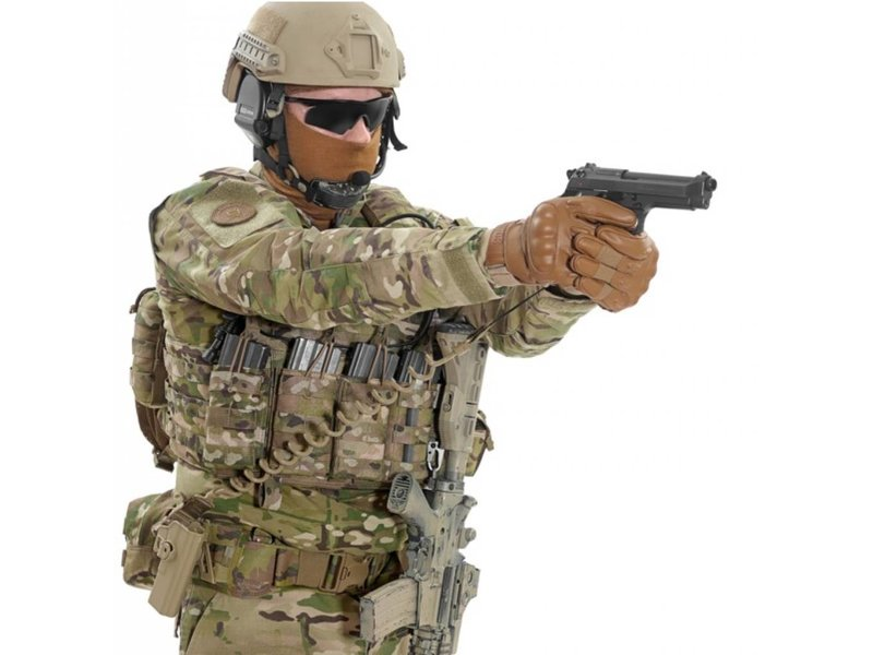 Warrior Tactical Pistol Lanyard (Coyote Tan)