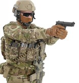 Warrior Tactical Pistol Lanyard (Black)