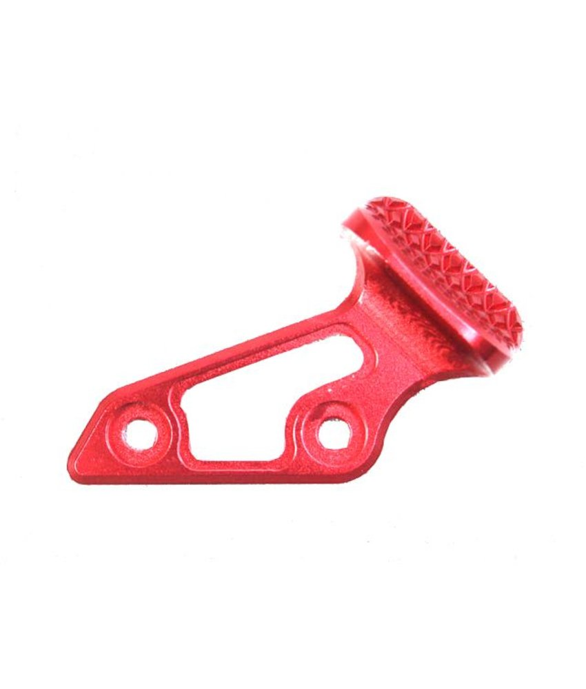 AIP Aluminium Skidproof Thumb Rest (Red)