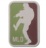 JTG Major League Doorkicker PVC Patch (Olive/Brown)