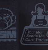 MIL-SPEC MONKEY Your Mom T-Shirt (Black)