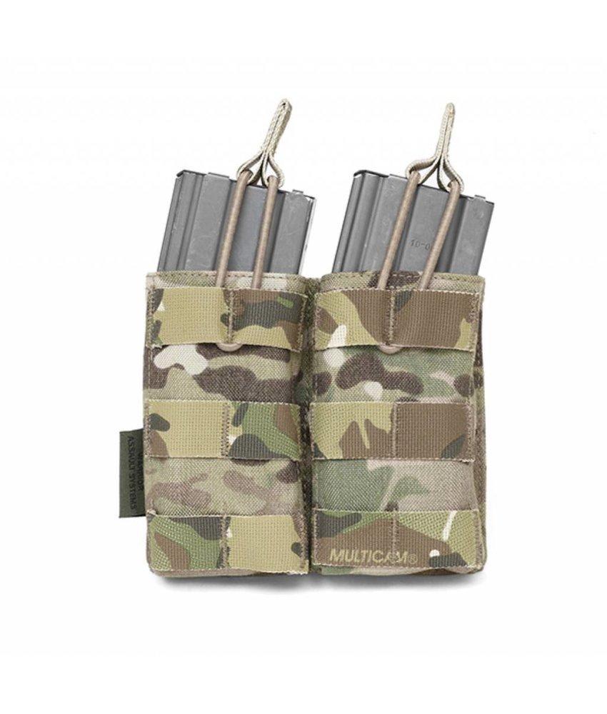 Warrior Double Open Pouch M4 (Multicam)