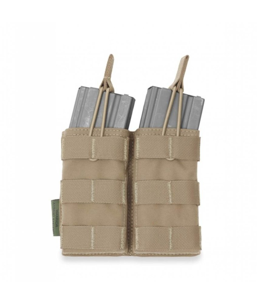 Warrior Double Open Pouch M4 (Coyote Tan)