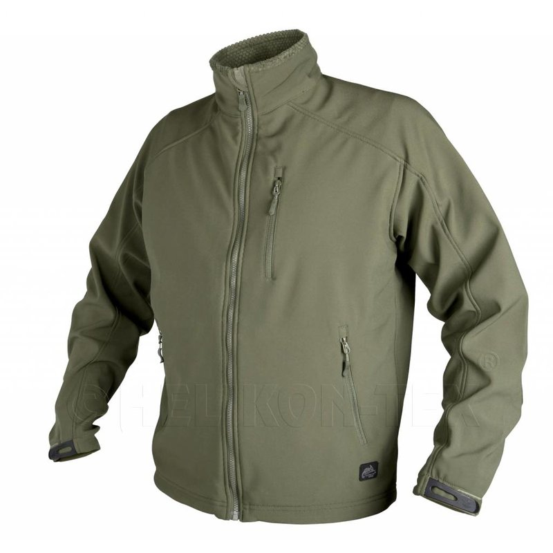 Helikon Delta Soft Shell Jacket (Olive Green)