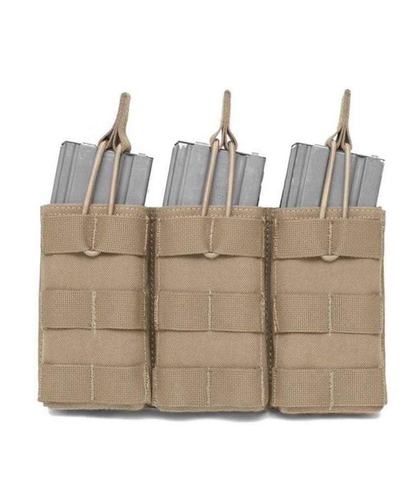 Warrior Triple Open Pouch M4 (Coyote Tan)