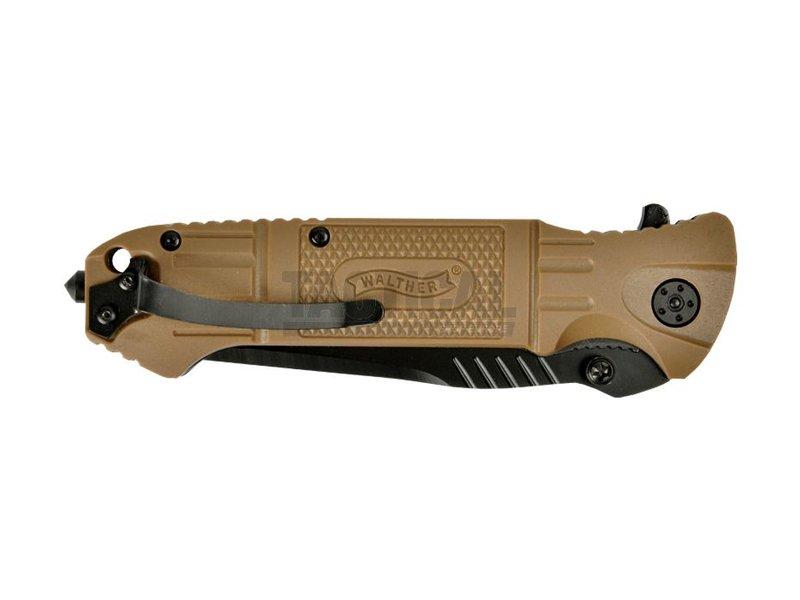 Walther Desert Black Tac Tanto Knife