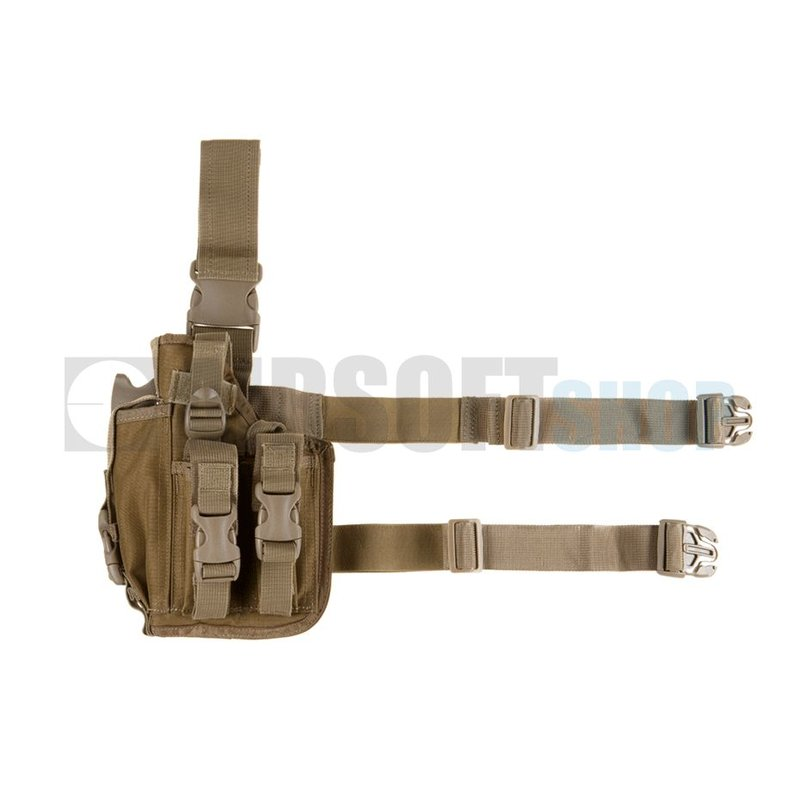 Invader Gear SOF Pistol Holster LEFT (Coyote Brown)
