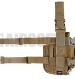 Invader Gear SOF Pistol Holster LEFT (Coyote Brown)