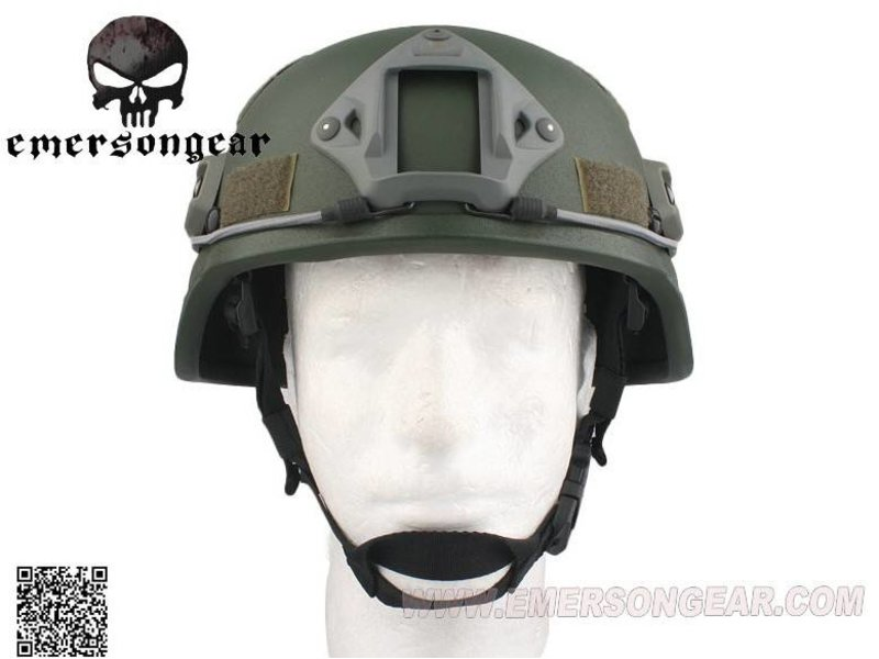 Emerson ACH MICH 2000 Helmet - Special Version (Olive Drab)