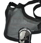 101 Inc Half Face Mesh Mask (Black)