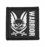 Warrior Velcro Patch (Black)