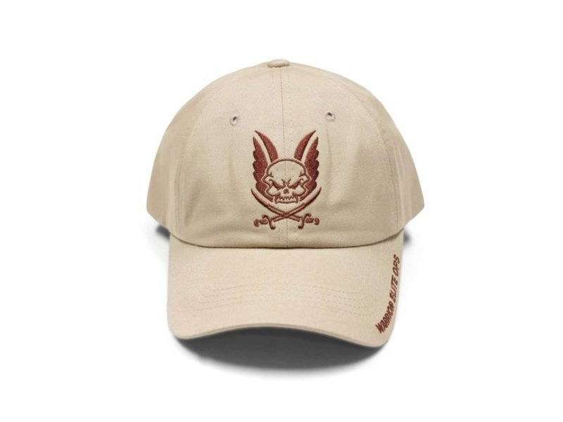 Warrior Logo Cap (Coyote Tan Embroidery)