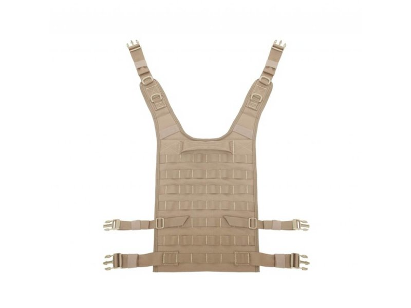 Warrior Back Panel (Coyote Tan)
