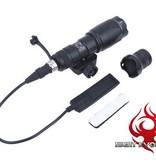Night Evolution M300 Mini Scout Flashlight (Black)