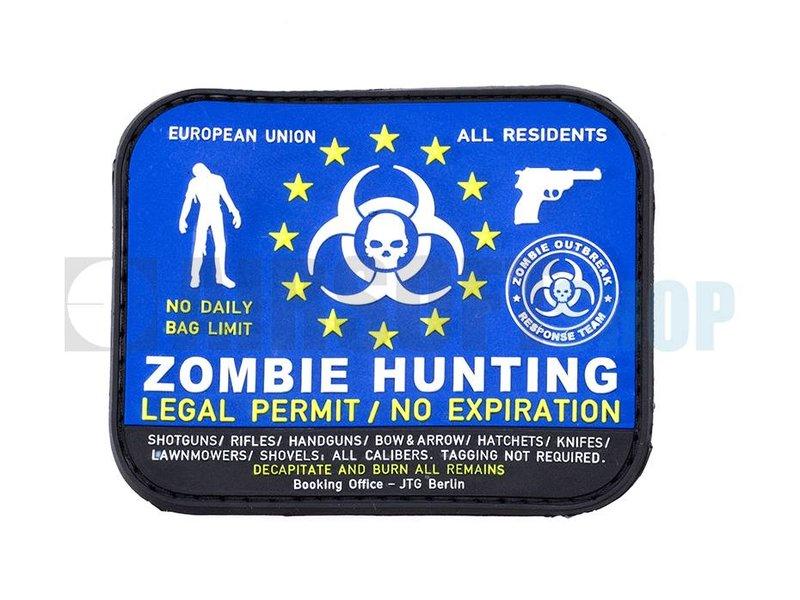 JTG Zombie Hunter PVC Patch (Color)