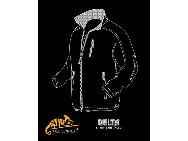 Helikon Delta Soft Shell Jacket (Olive Green)