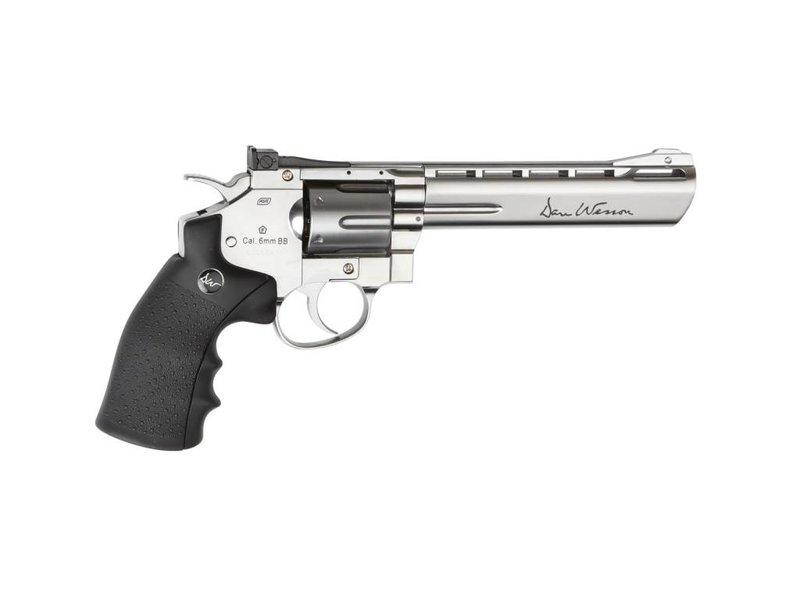 "ASG Dan Wesson 6"" Revolver Chrome (1.9 Joule)"
