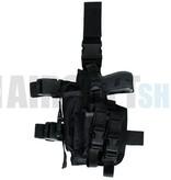 Invader Gear SOF Pistol Holster LEFT (Black)