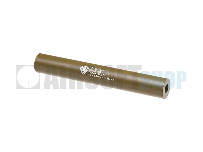 APS 230mm Silencer CCW (Dark Earth)