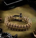 Invader Gear Shackle Bracelet (Coyote Brown)