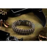 Invader Gear Paracord Bracelet (Gun Grey)