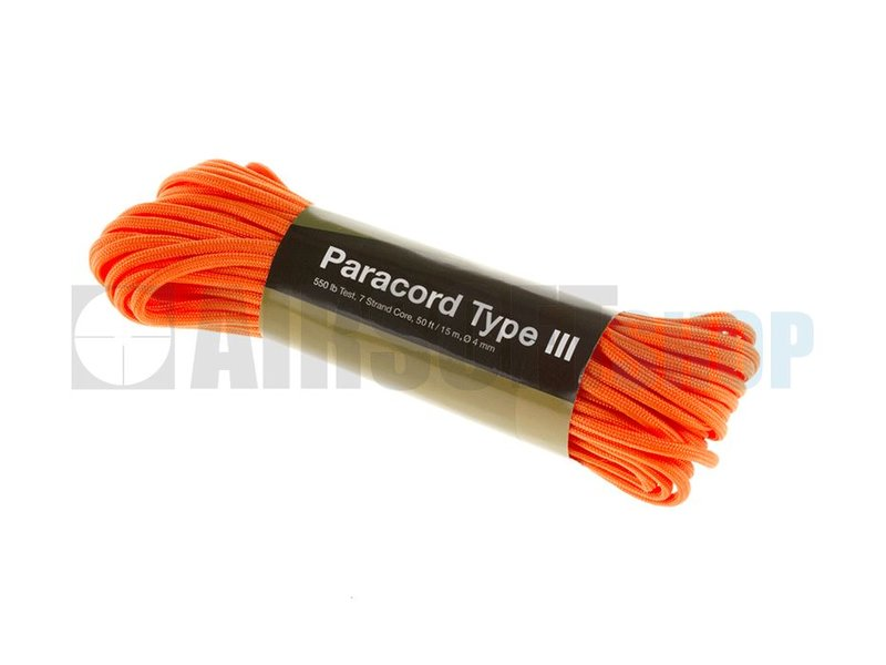 Invader Gear Paracord 550lb (Orange Yellow)