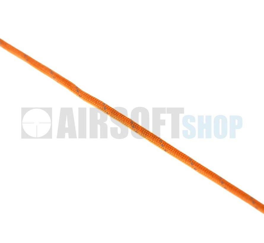 Paracord 550lb (Orange Yellow Reflective)