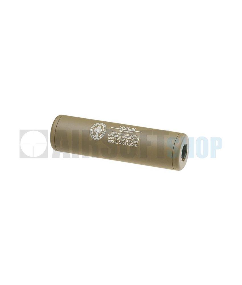 King Arms LW Silencer 110mm US Socom CW/CCW (Dark Earth)