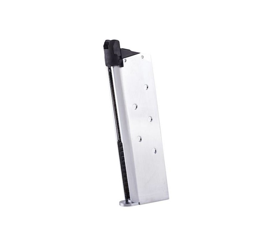 M1911 Government Chrome Stainless GBB Mag