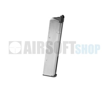 Tokyo Marui M1911 Government Extended Chrome GBB Mag