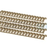G&G Ladder Rail Protector Set (Dark Earth)