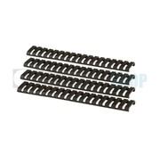 G&G Ladder Rail Protector Set (Black)