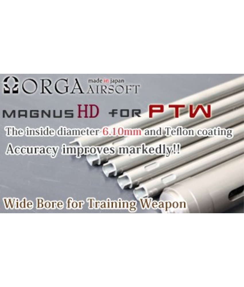 "Orga Magnus 6.10mm Inner Barrel for PTW (373mm / 14.5"")"