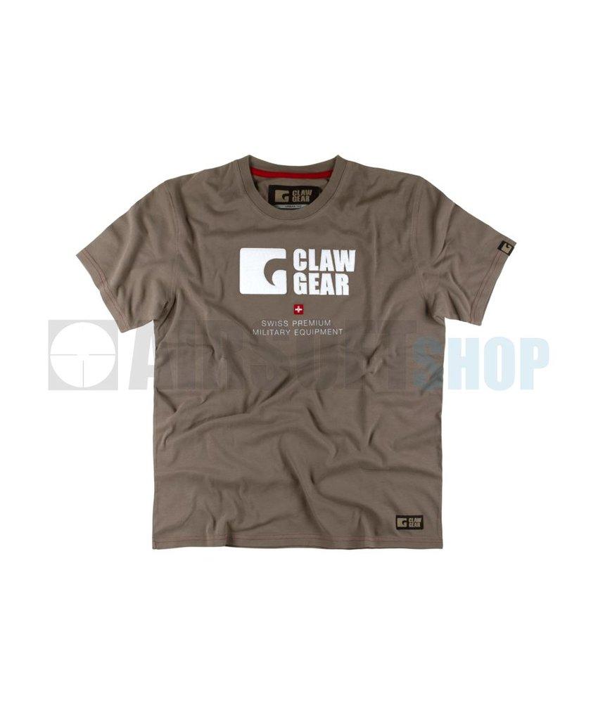 Claw Gear T-Shirt Dark Earth