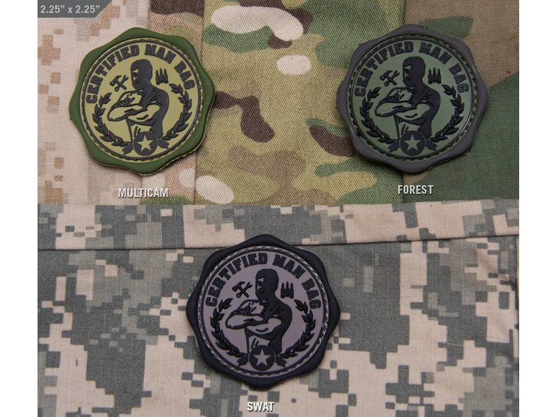 MIL-SPEC MONKEY Certified Man Bag PVC Patch