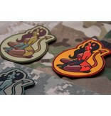 MIL-SPEC MONKEY Devil Girl PVC Patch