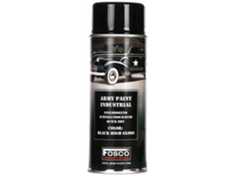 Fosco Spray Paint Shiny Black 400ml