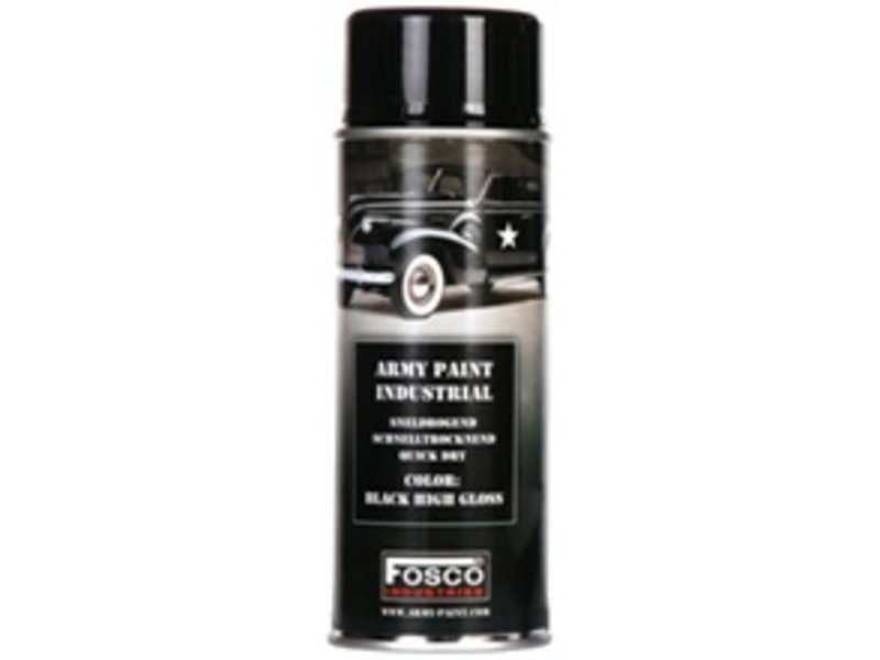 Fosco Spuitbus Shiny Black 400ml