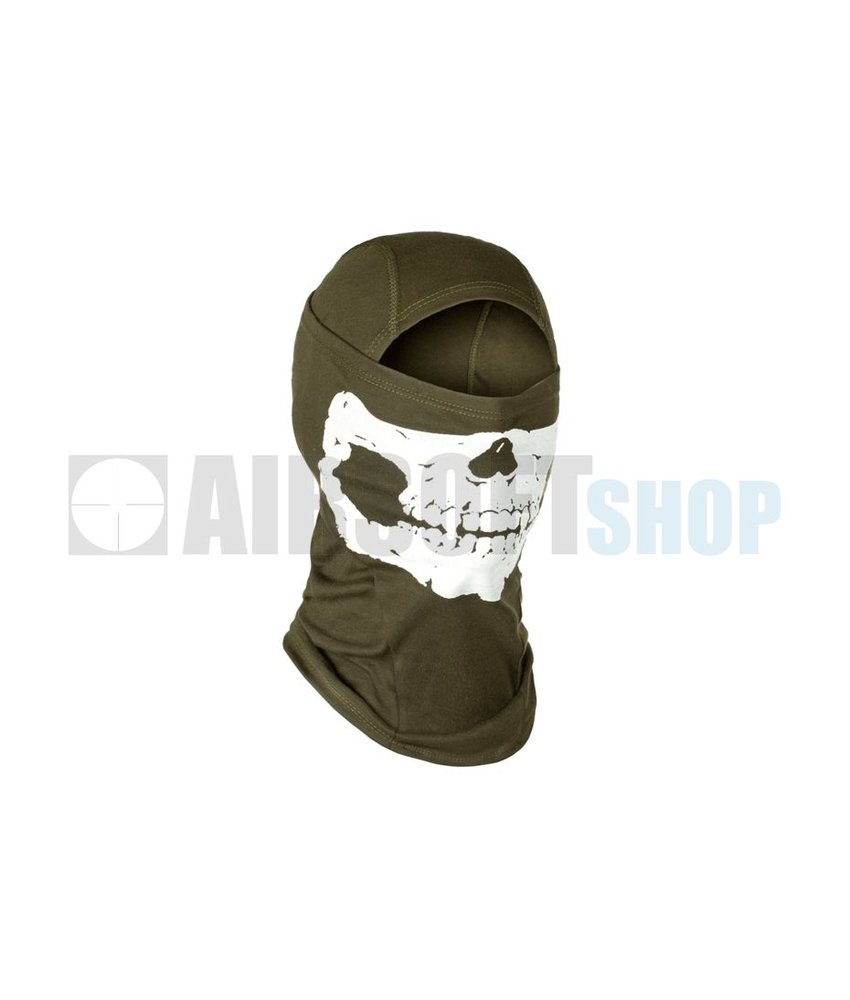 Invader Gear MPS Death Head Balaclava (Olive Drab)