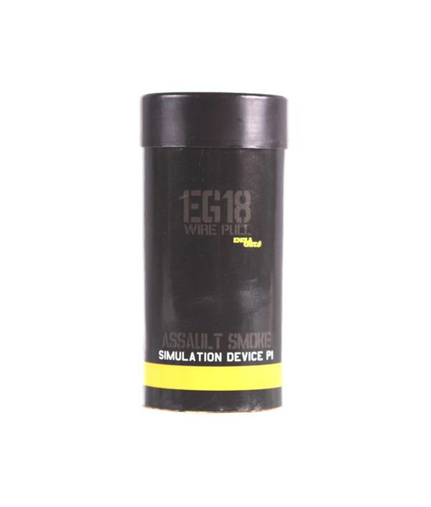 Enola Gaye EG18 High Output Yellow Smoke