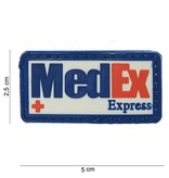 MedEx Express PVC Patch (Color)