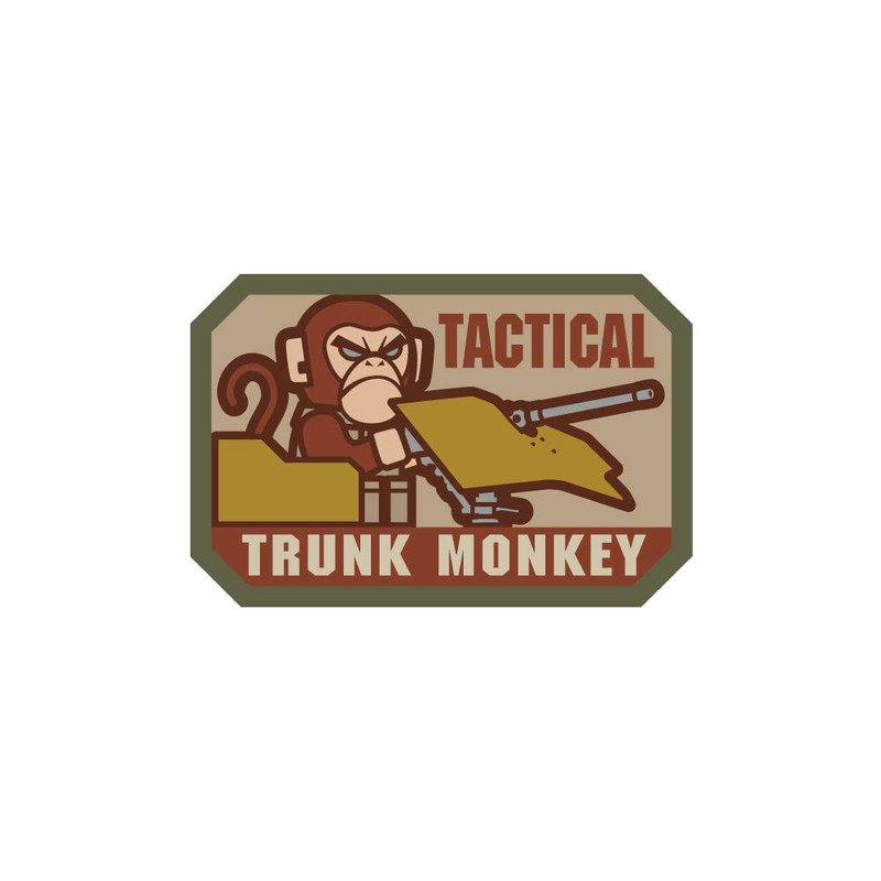 MIL-SPEC MONKEY Tactical Trunk Monkey Patch