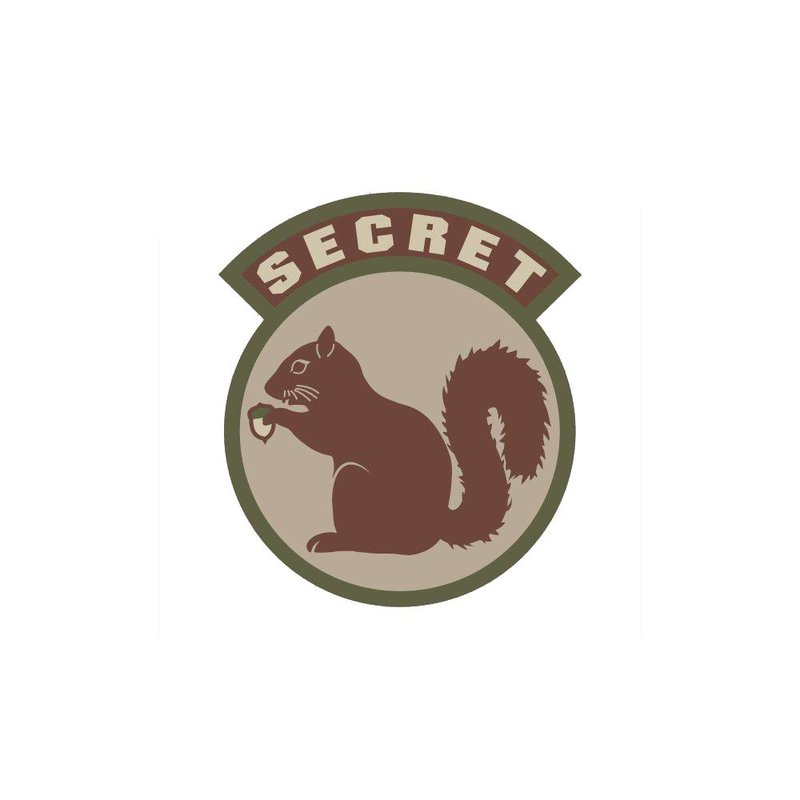 MIL-SPEC MONKEY Secret Squirrel Patch