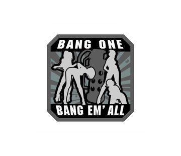 MIL-SPEC MONKEY Bang Em All Patch (Large)