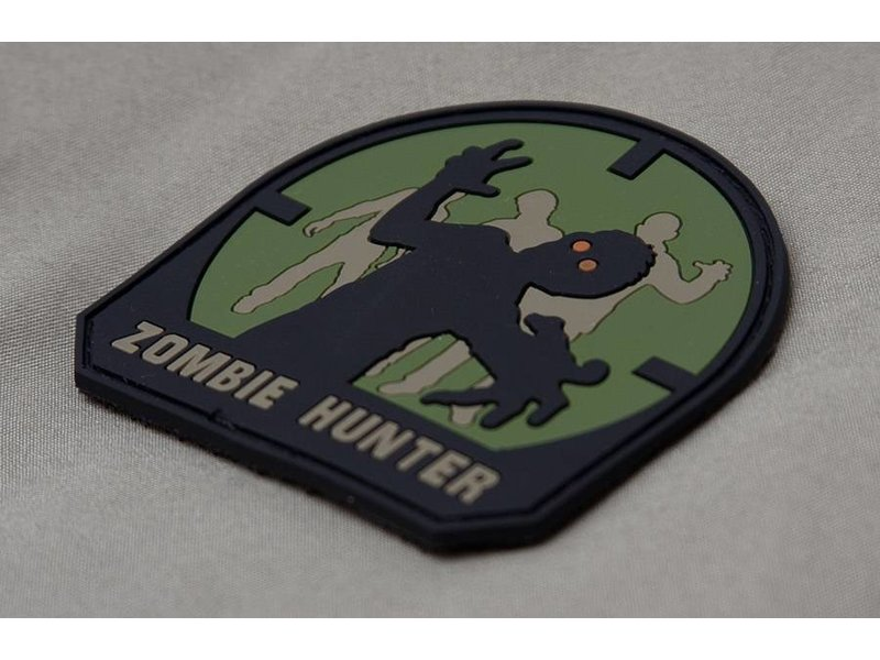 MIL-SPEC MONKEY Zombie Hunter PVC Patch