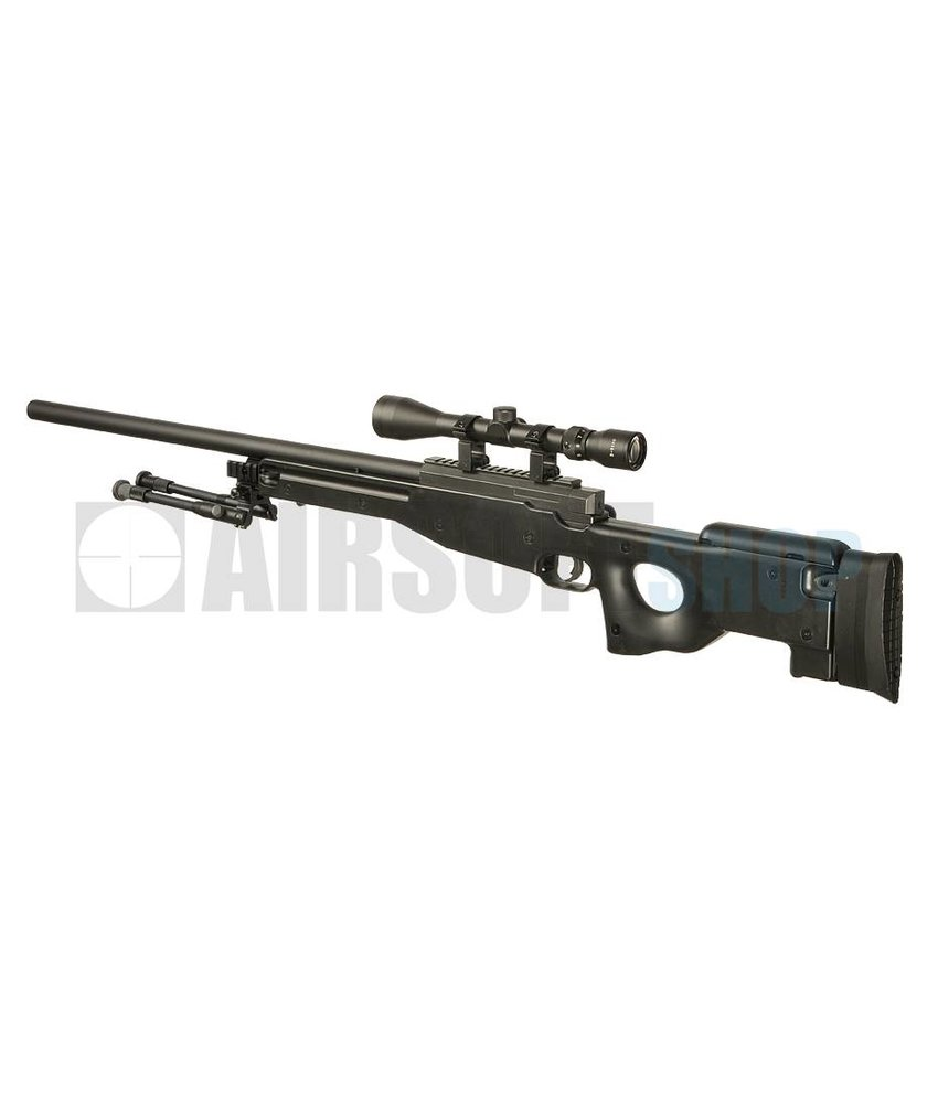 WELL L96 Sniper Set (Black) 550 FPS